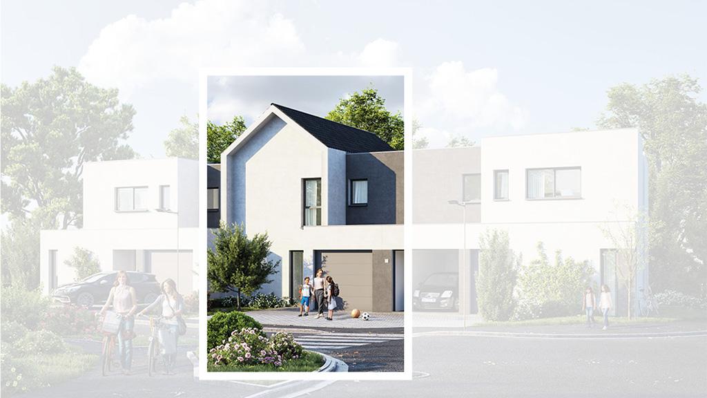 Staff Aménagement et Promotion - Les Hameaux de la Roseraie - Maisons neuves à Marly - Modèle A1 Centre