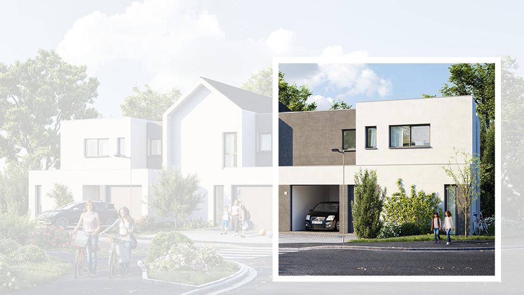 Staff Aménagement et Promotion - Les Hameaux de la Roseraie - Maisons neuves à Marly - Modèle A1 Droite