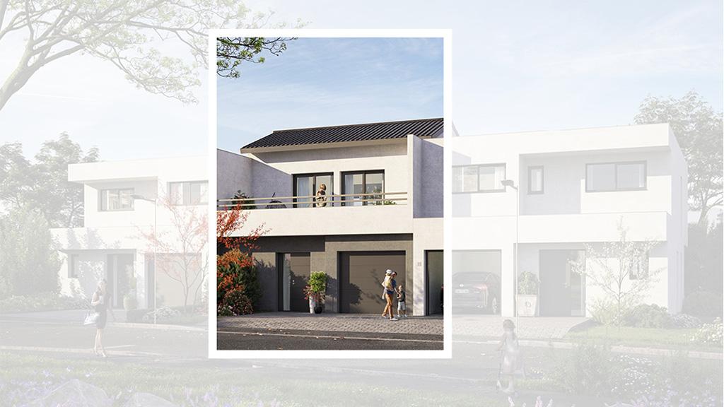 Staff Aménagement et Promotion - Les Hameaux de la Roseraie - Maisons neuves à Marly - Modèle B2 Centre